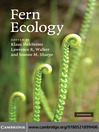 Fern Ecology (eBook)